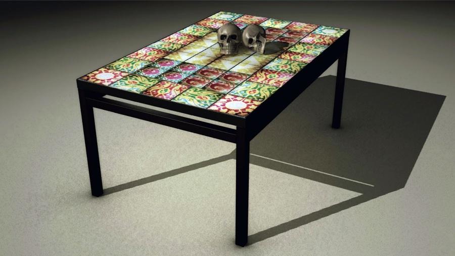 Mesa Especial Diseño 3D