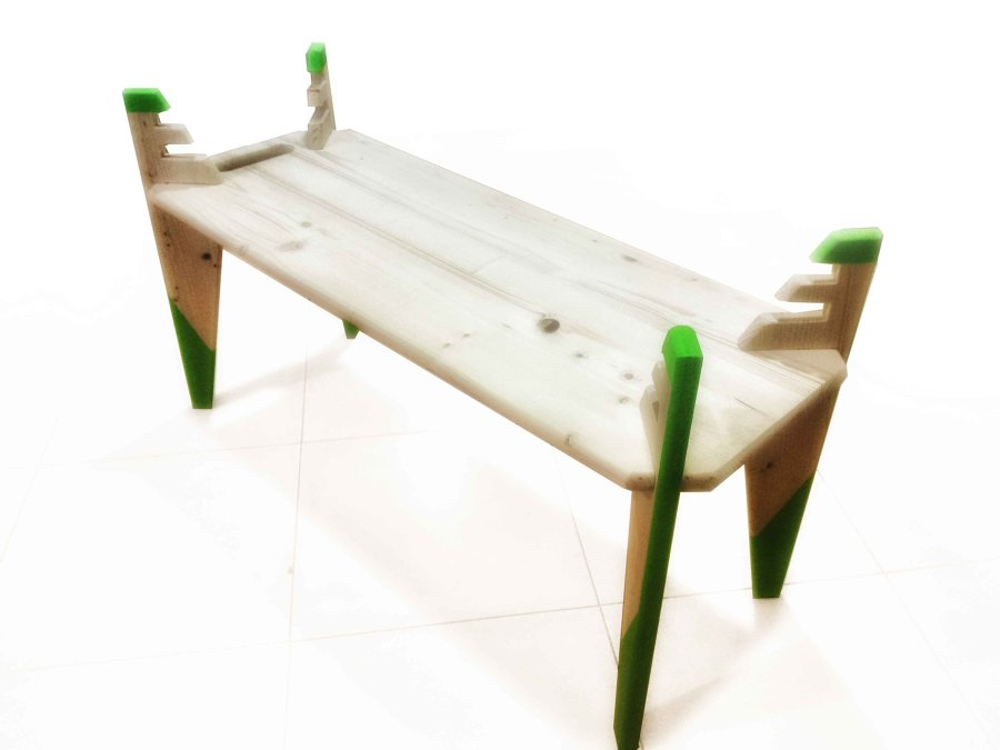 mesa para guardaría