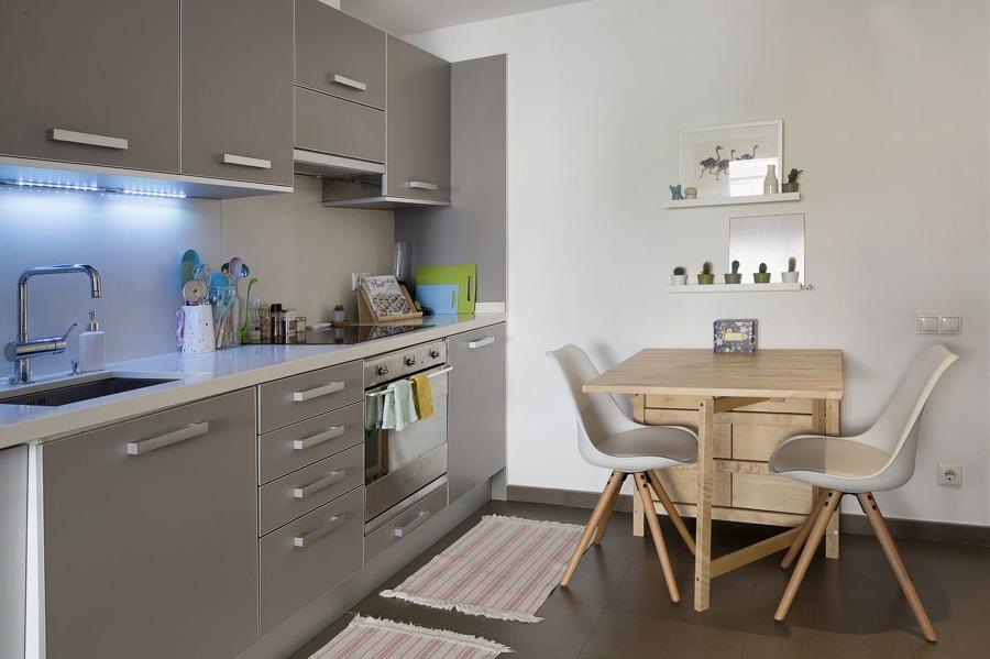 Mesa plegable Ikea