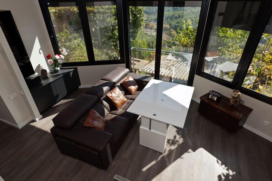 mesa salón abierta