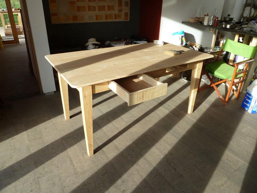 mesa terminada