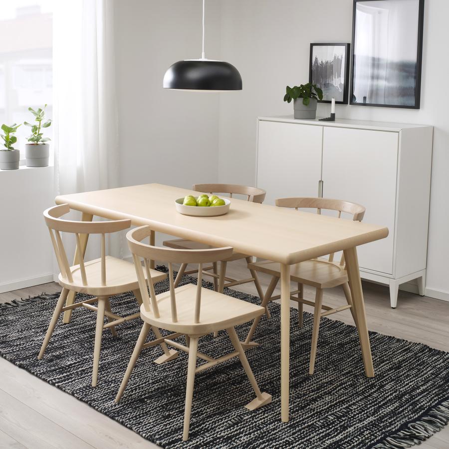 Mesa y sillas MARKERAD: La nueva colección limitada de IKEA en colaboración con Virgil Abloh
