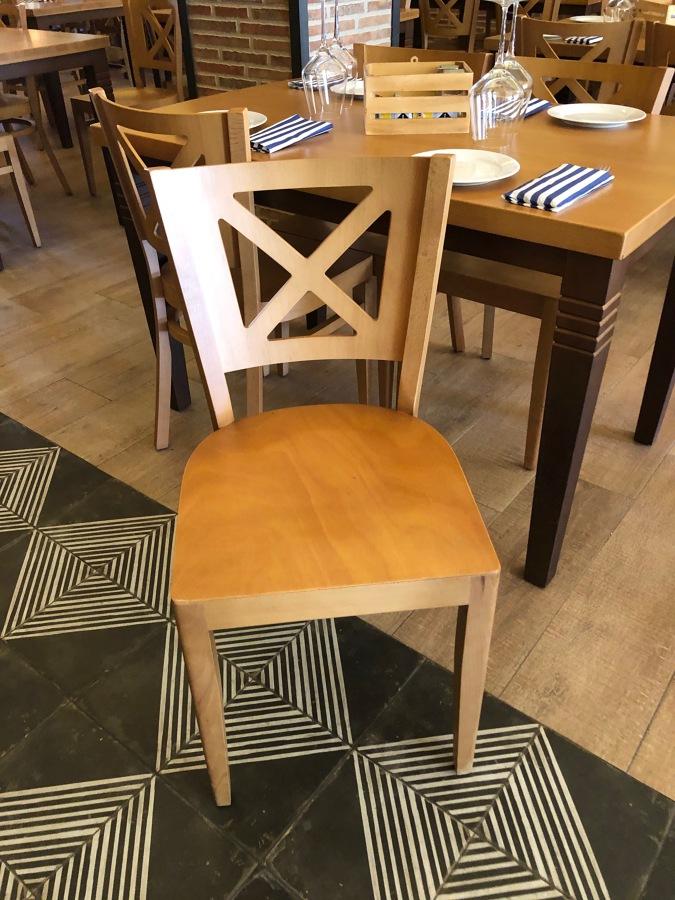 Mesa y sillas para Restaurante