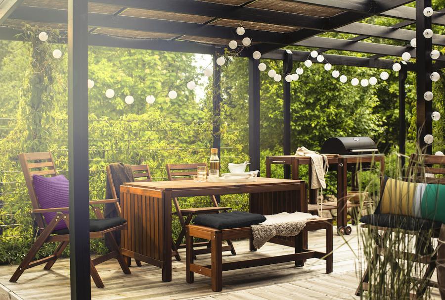 Mesas y sillas de jardín IKEA 2020