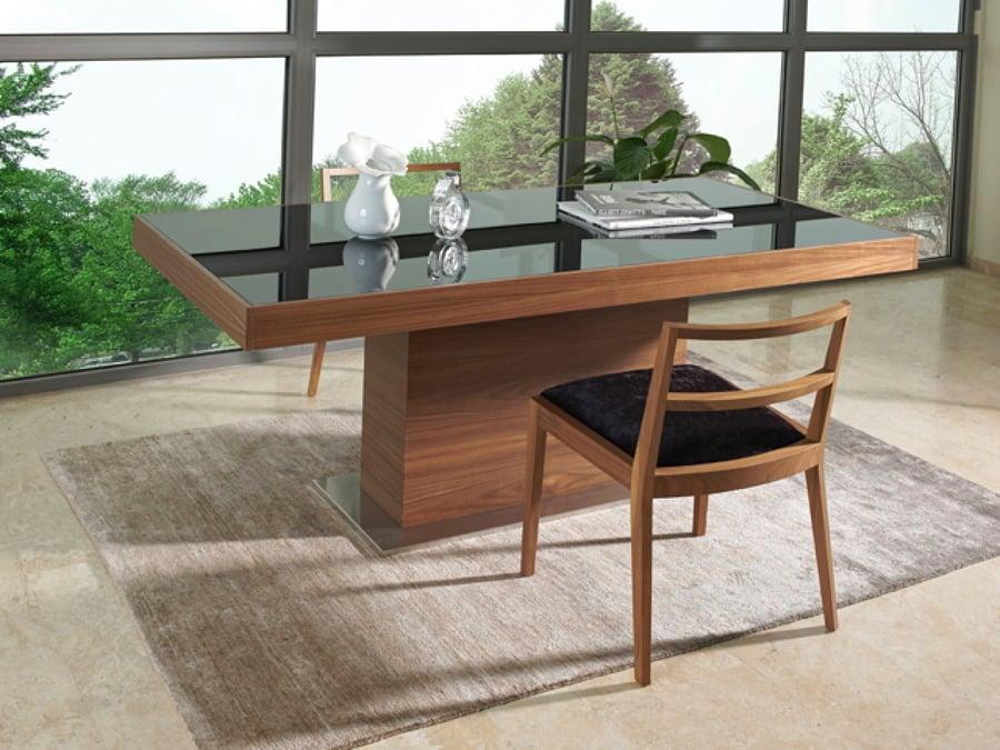 C mo proteger una mesa de madera ideas mantenimiento for Mesas de salon de madera