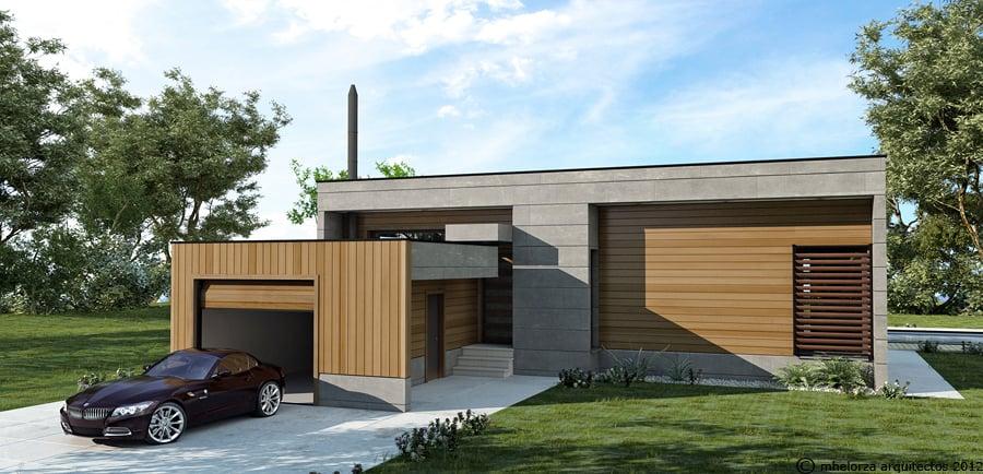 Foto mh95 casa de madera bioclim tica de mhelorza - Arquitectos en soria ...
