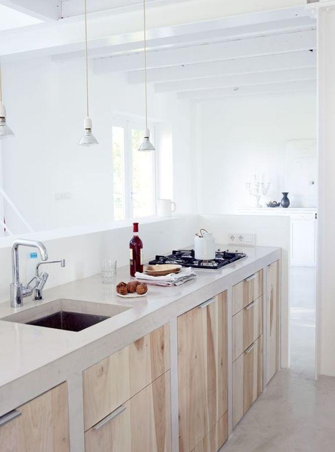 C mo reformar tu cocina sin quitar los azulejos ideas - Como poner microcemento ...