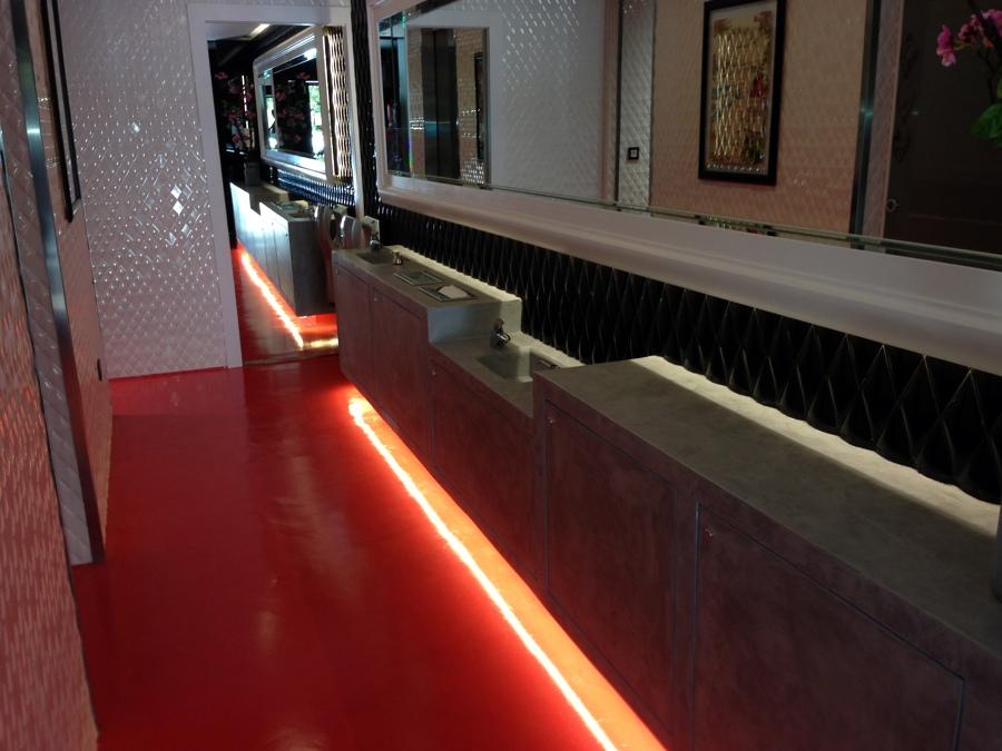 Microcemento Restaurante en Valladolid