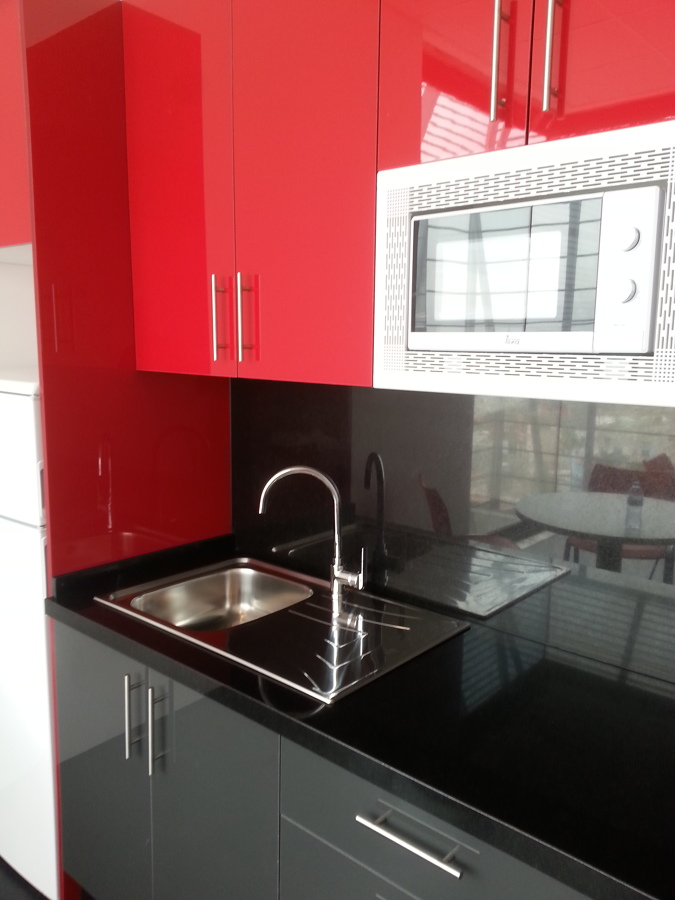 Office ideas reformas cocinas - Mueble alto microondas ...