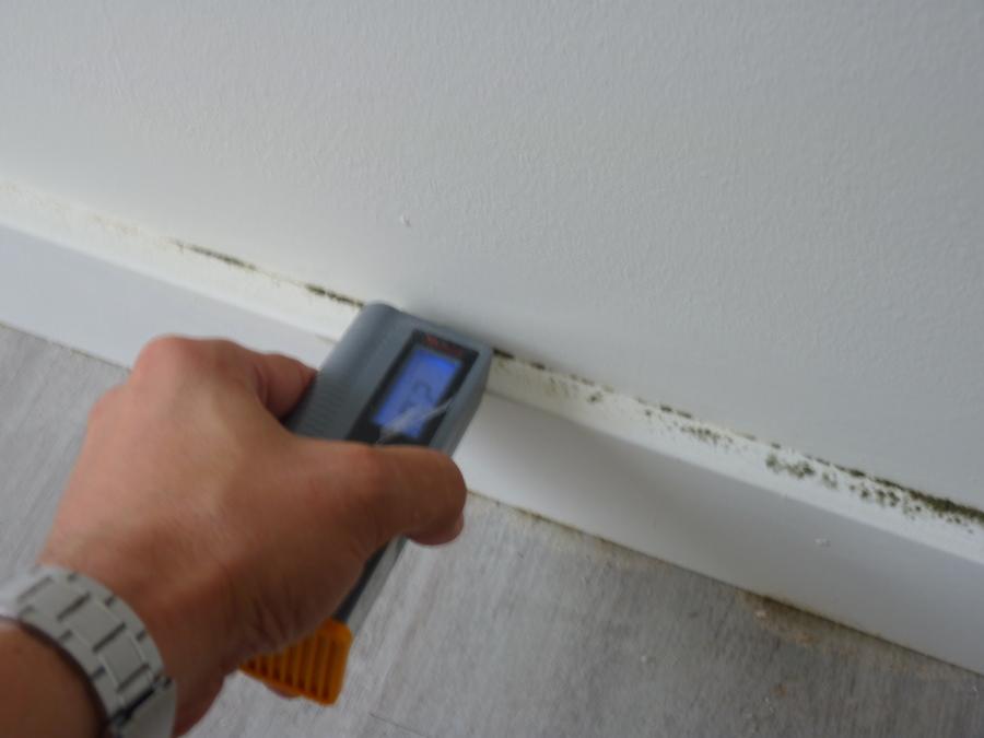 midiendo la humedad. 5