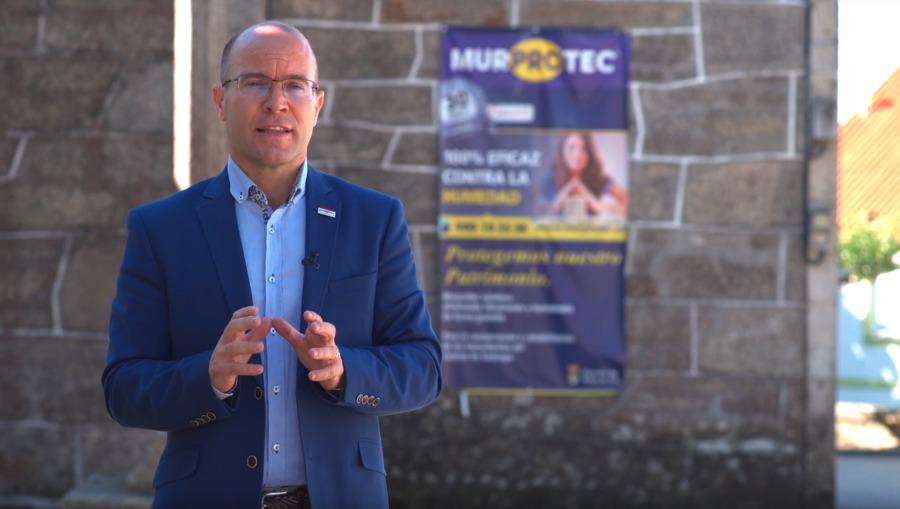 Miguel Ángel Leite, director de Murprotec en noroeste de España