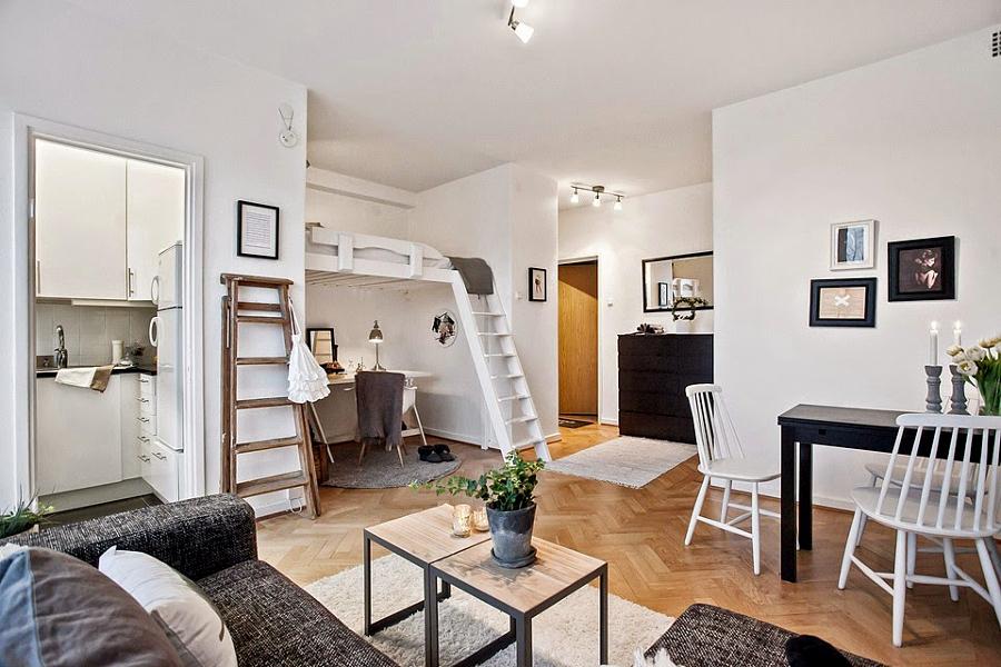 La magia de las estancias a doble altura ideas decoradores - Mini apartamentos ...