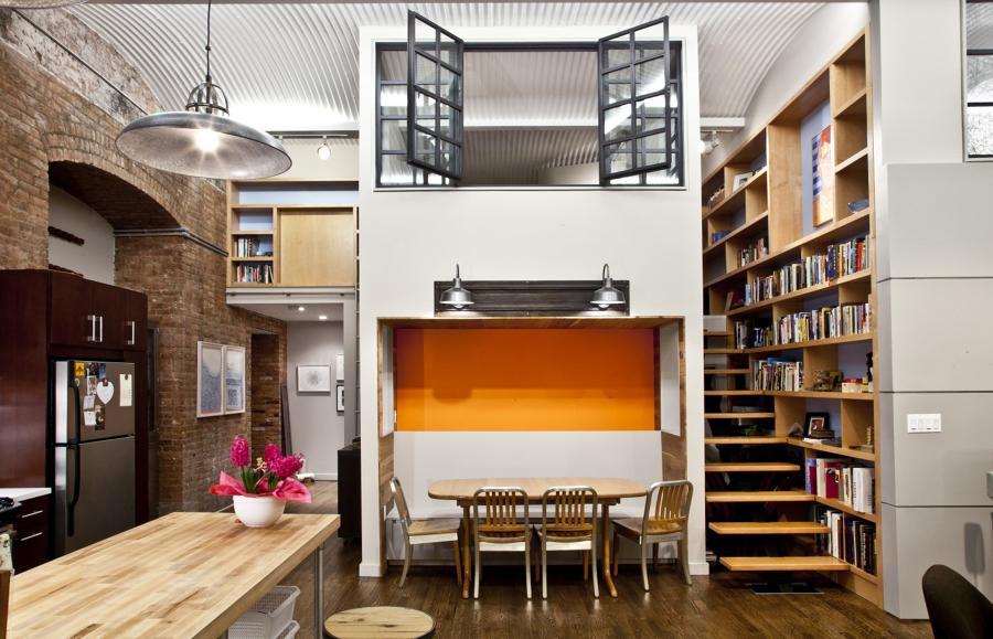 La magia de las estancias a doble altura ideas decoradores for Mini apartamentos modernos