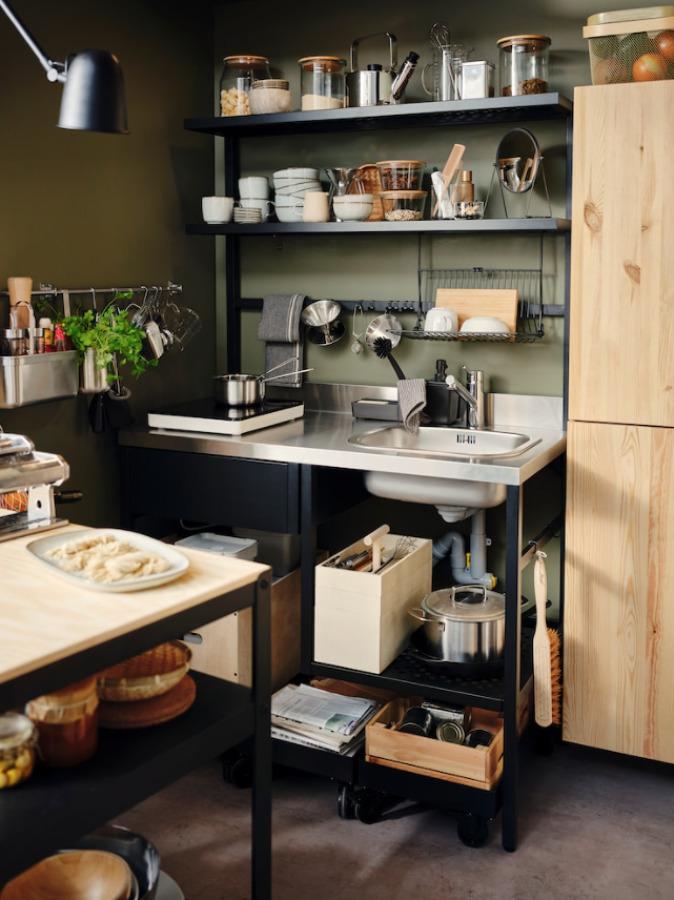 Minicocina RÅVAROR colección IKEA