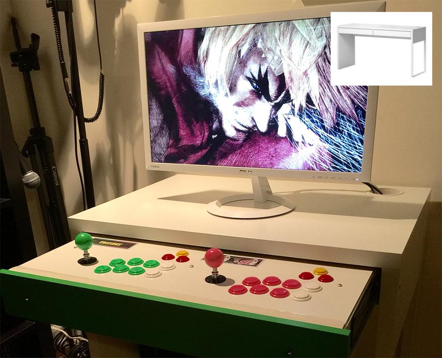 Arcade Micke desk