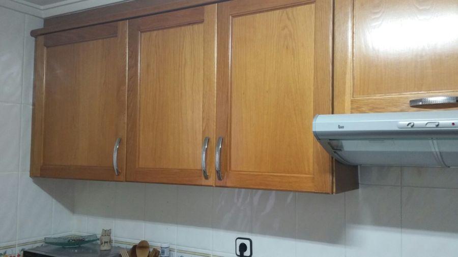 Mobiliario de cocina antes de la renovación