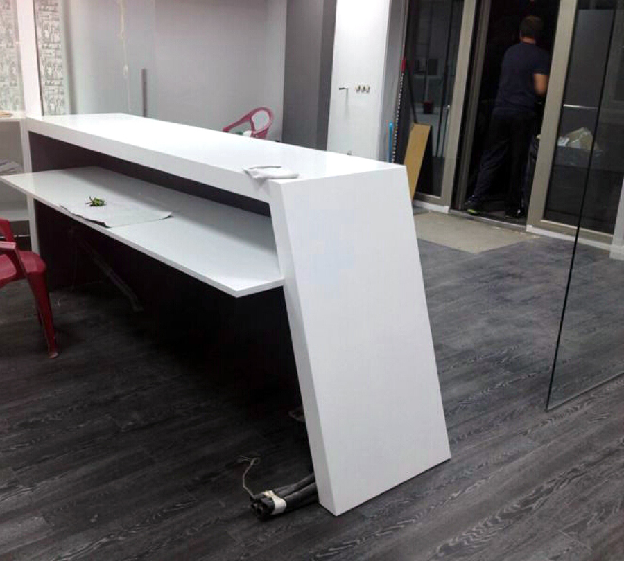Mobiliario hecho a medida para local comercial