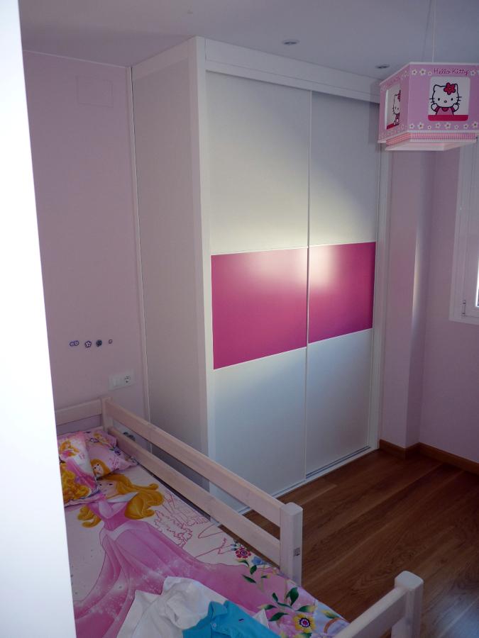 Armario infantil de niña
