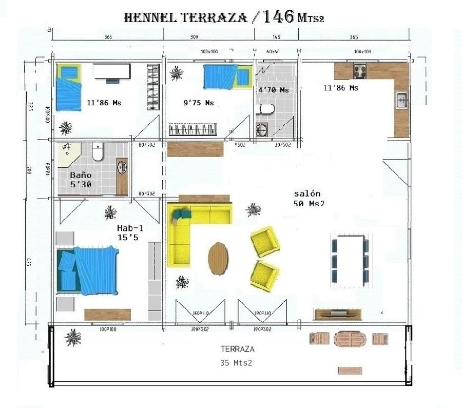 Mod. Hennel/146 Opc-1