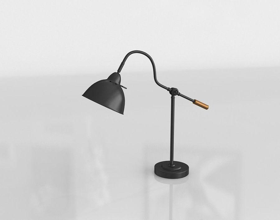 Modelo 3D- lámpara