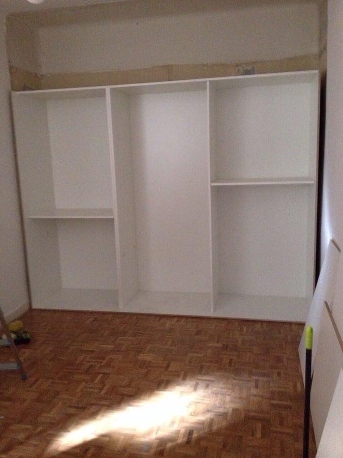 Frente de armario y m dulo interior en madrid ideas - Modulos interior armario ...