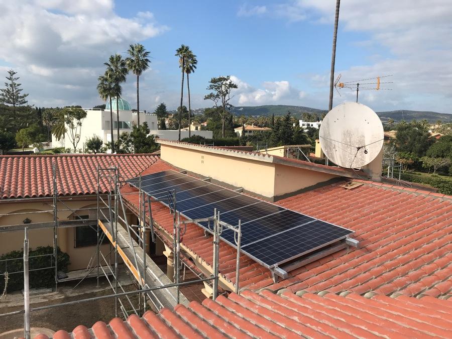 Módulos fotovoltaicos