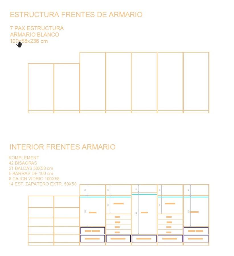 Módulos Ikea Apax