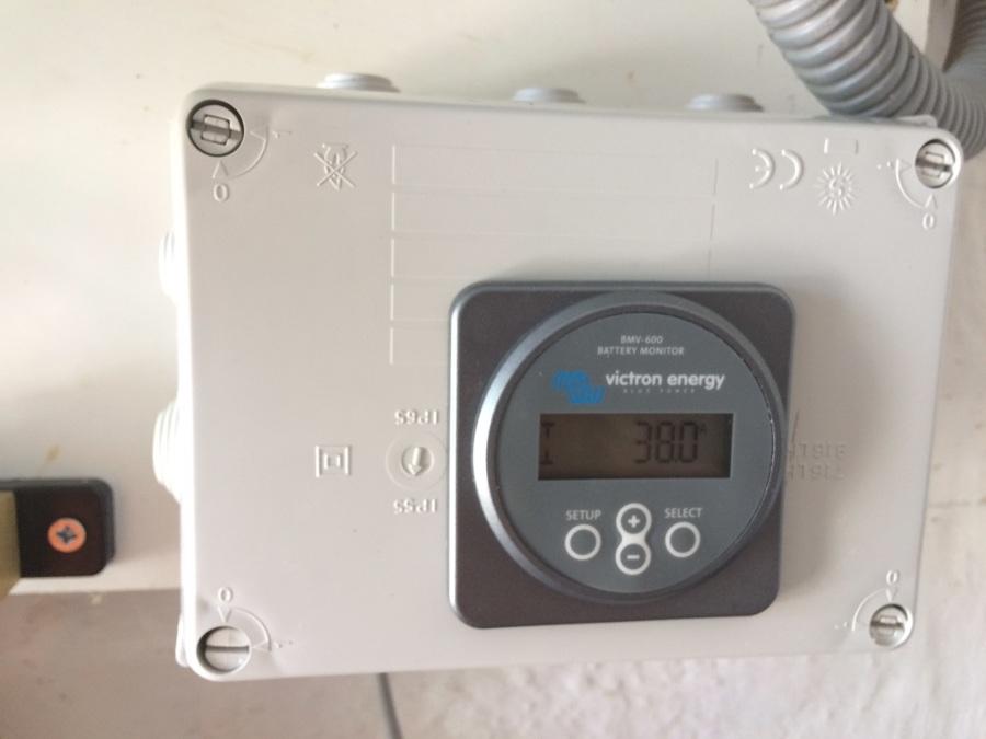 Monitor de baterías.