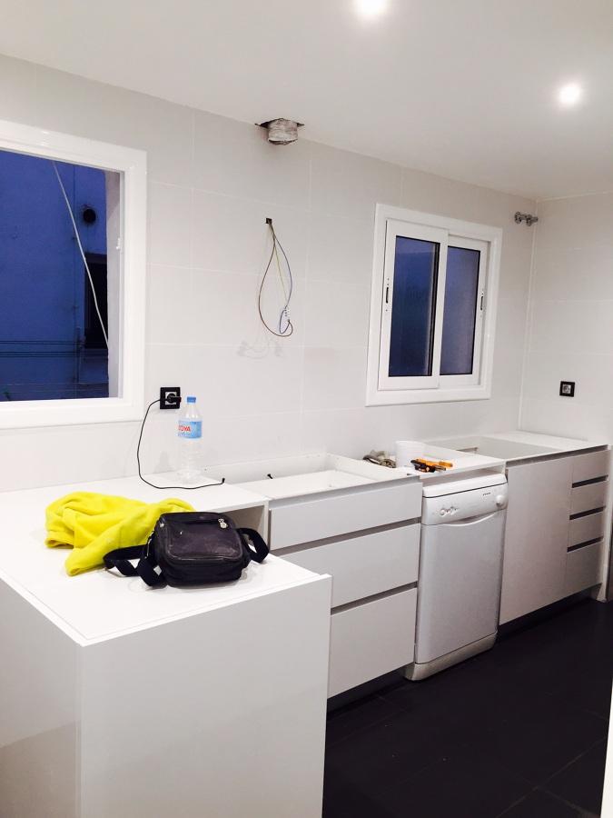 Foto montaje de muebles cocina de nestor luna 842006 - Montaje de cocina ...