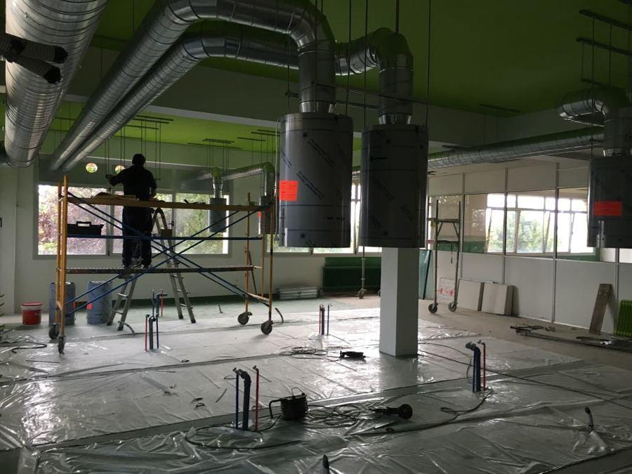 Montaje de sistema de extracción
