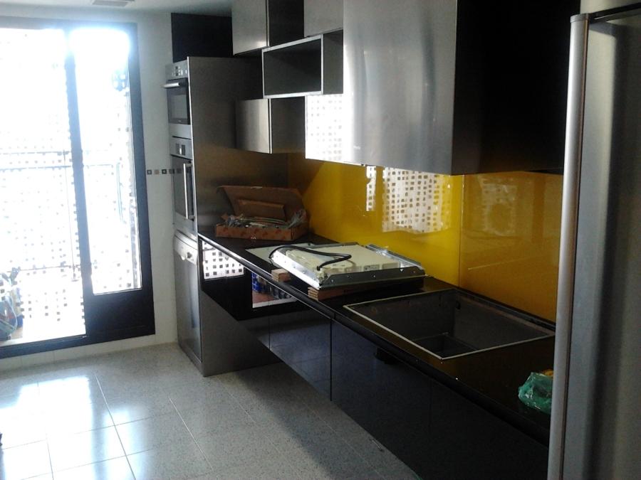 Instalaci n mobiliario de cocina dise ado por los clientes for Muebles de cocina zamora