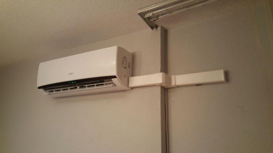 instalaci n de splits en pared ideas electricistas