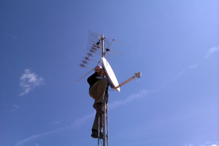 Montando antenas