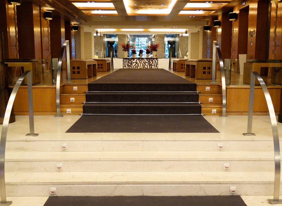 Moqueta entrada hotel