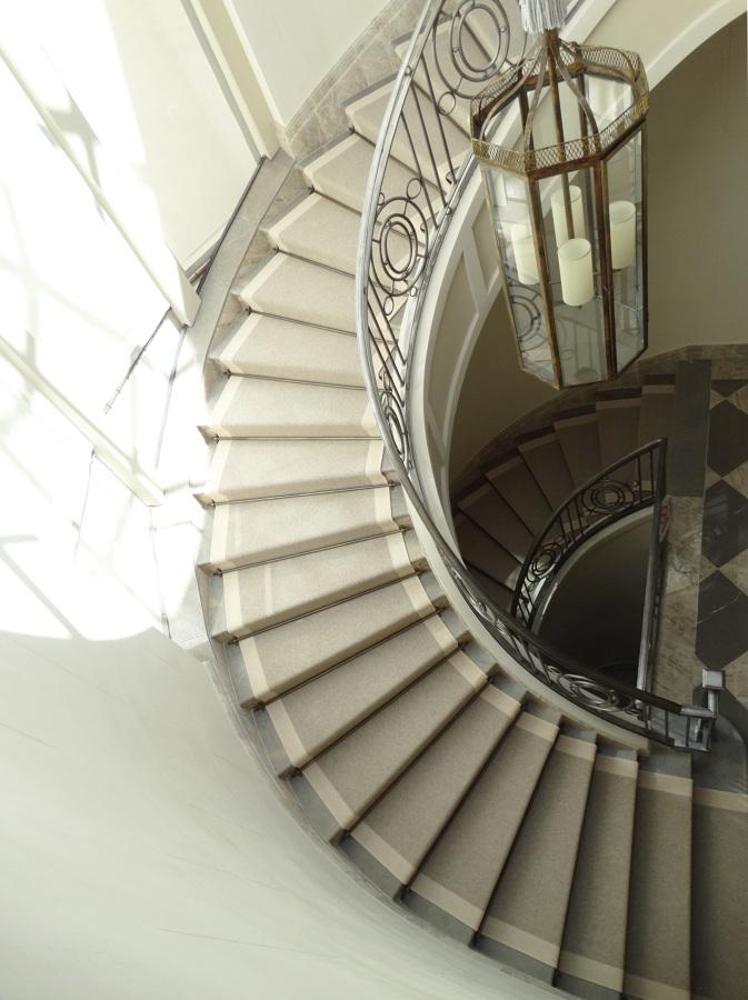 Moquetas de escaleras