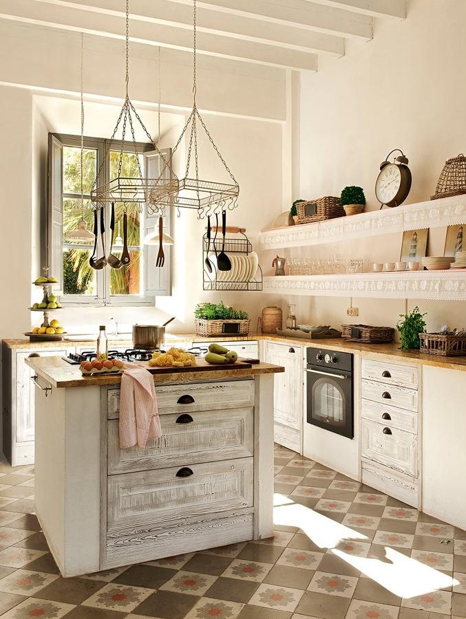 Foto mosaico hidr ulico en cocina de miriam mart 865311 - Como limpiar baldosas cocina ...