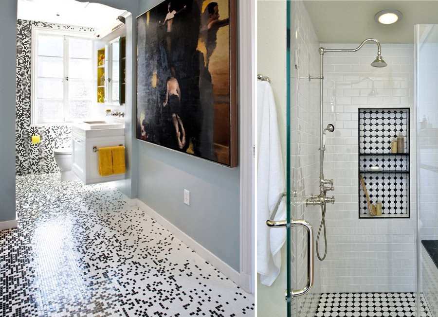 Azulejos mosaicos para baos simple trendy best azulejos - Banos decorados con mosaicos ...