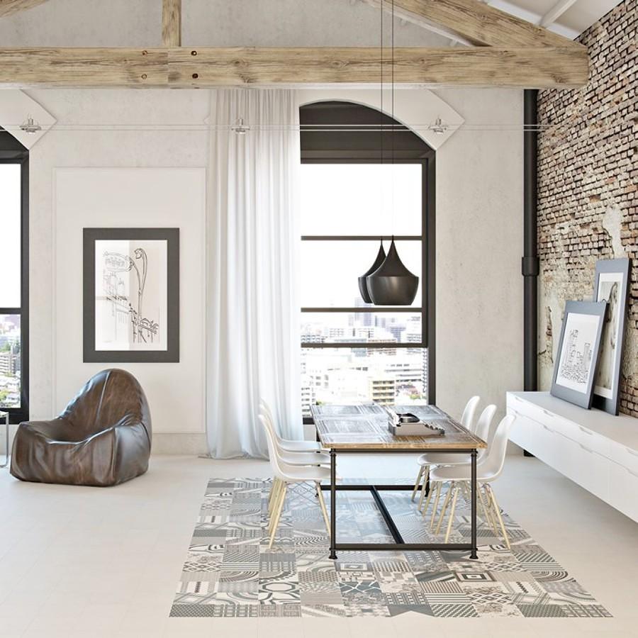 Mosaicos cu l escoger y por qu ideas decoradores - Suelos para salon ...