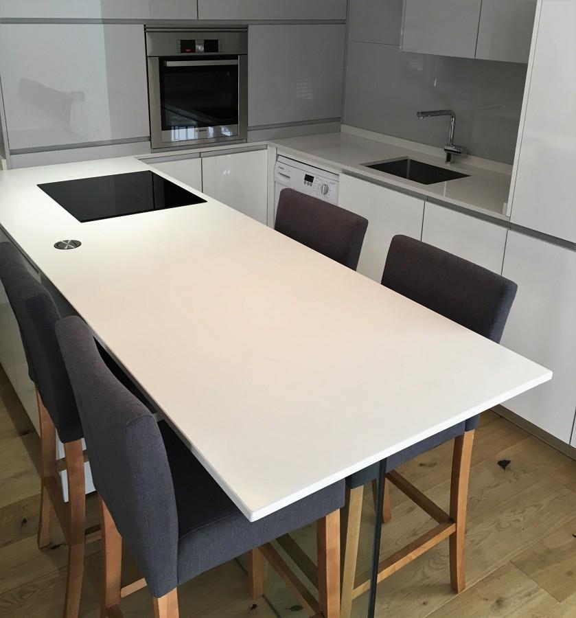 Mostrador/zona de trabajo - mesa comedor