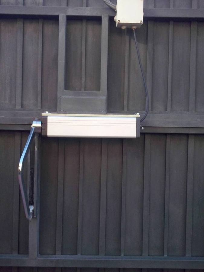 motor puerta basculante 2 hojas finest puerta basculante
