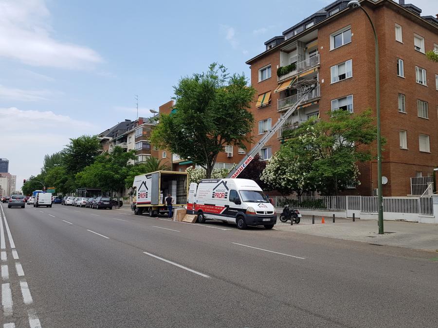 MUDANZA DE PISO COMPLETO EN MADRID CAPITAL
