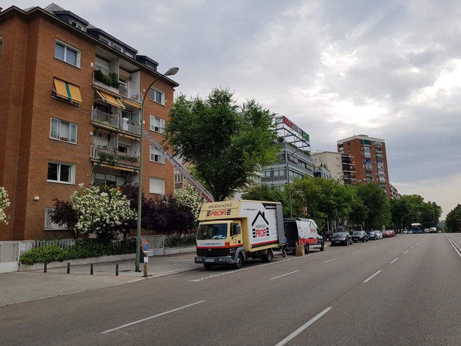 MUDANZA DE PISO EN MADRID