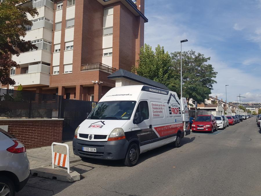 Mudanza Madrid