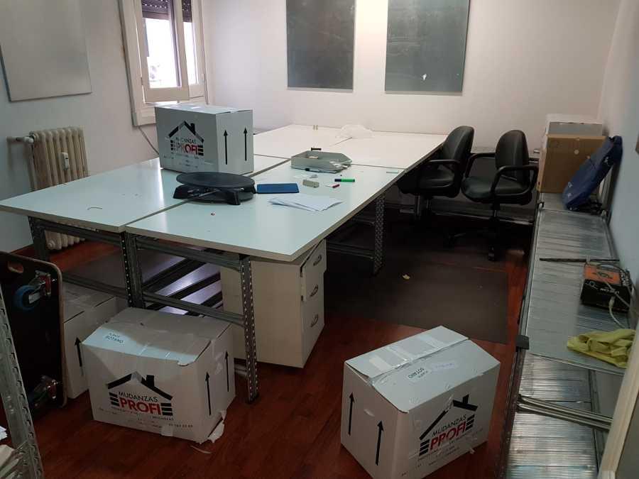 MUDANZA OFICINA EN MADRID CAPITAL Y GUARDAMUEBLES