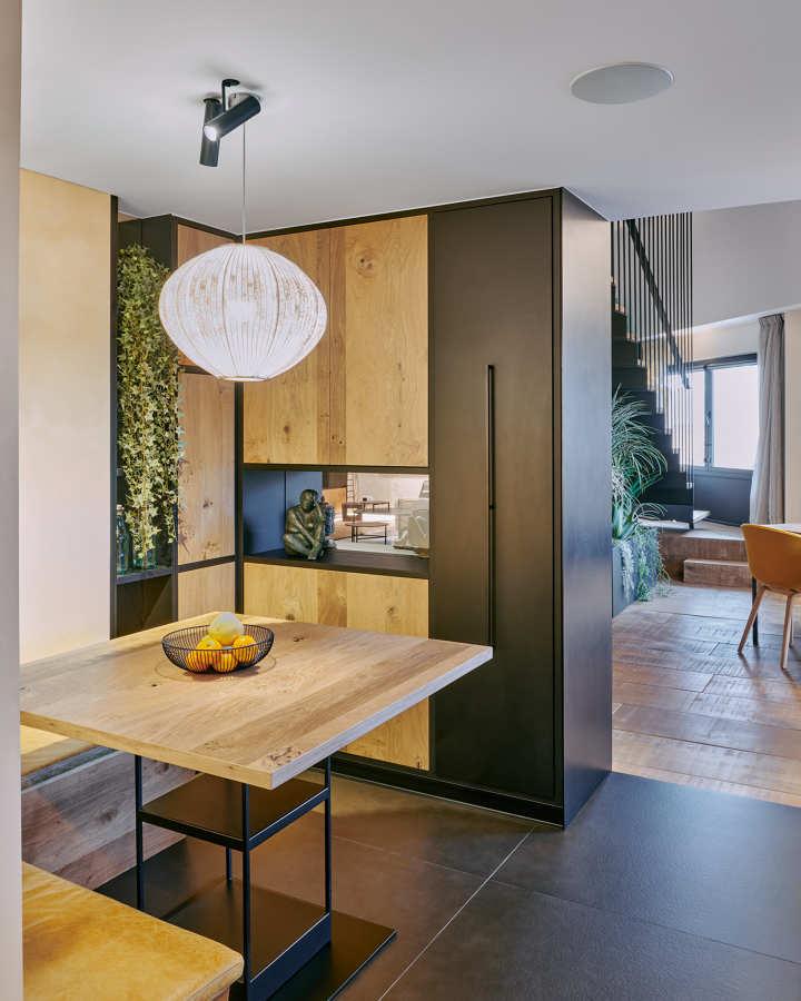 Mueble a medida cocina office