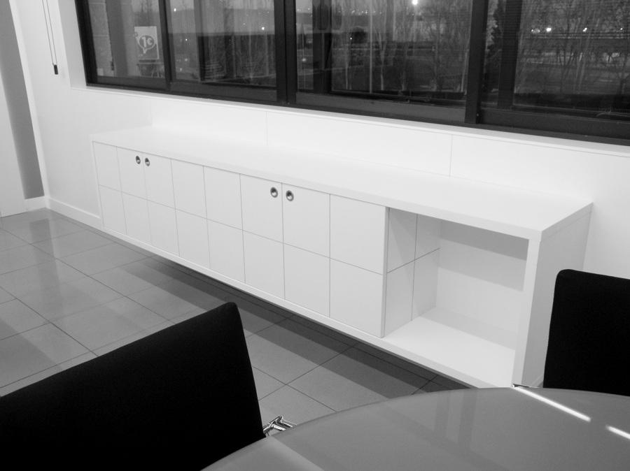 Mueble a medida para despacho de Dirección