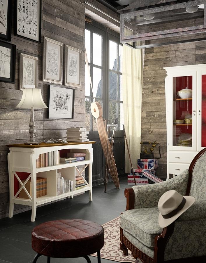 Mueble auxiliar/ separador de ambientes.