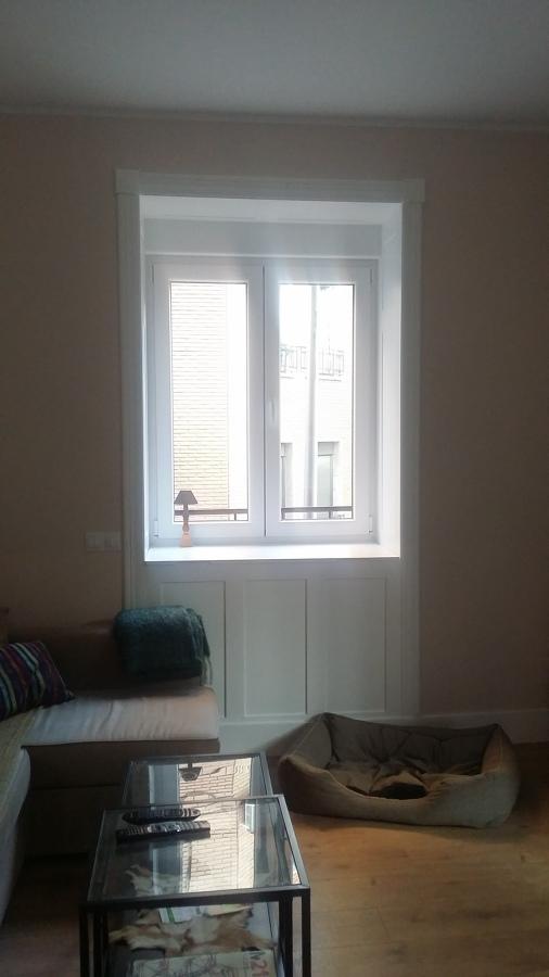Mueble bajo - ventana