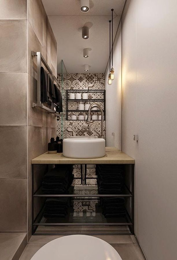 5 pisos peque os que tienes que ver antes de reformar el for Muebles colgantes para banos pequenos