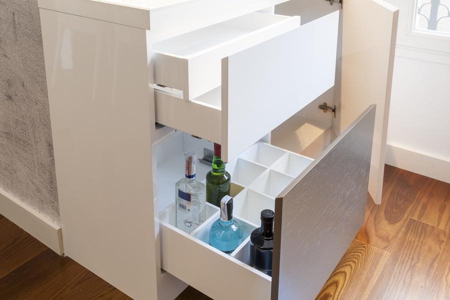 Mueble - bar (detalle)